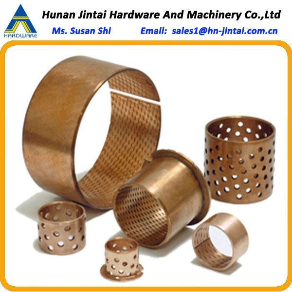 Hardness technical parameters 125-150HB used for colder regions like Northern Europe Canada - Wrapped Bronze Bearing