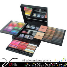 85 Pieces Lady Makeup Combination Kiss Beauty Super Advanced Eyeshadow Palette