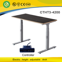 Modern reception counter desk electric lifting table modern design furniture computer table