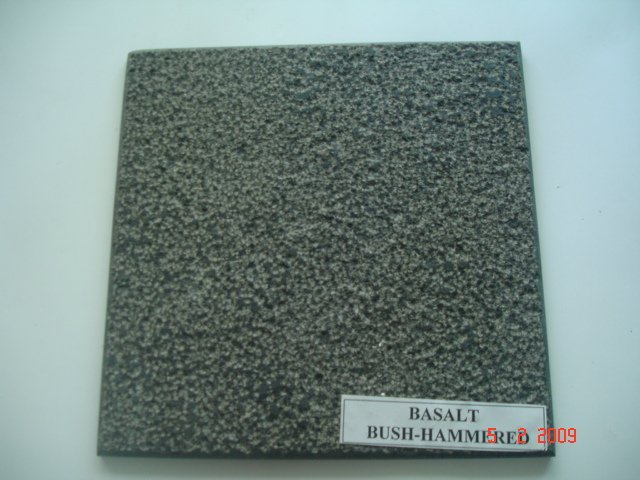 Dark Basalt Bush-hammered tile