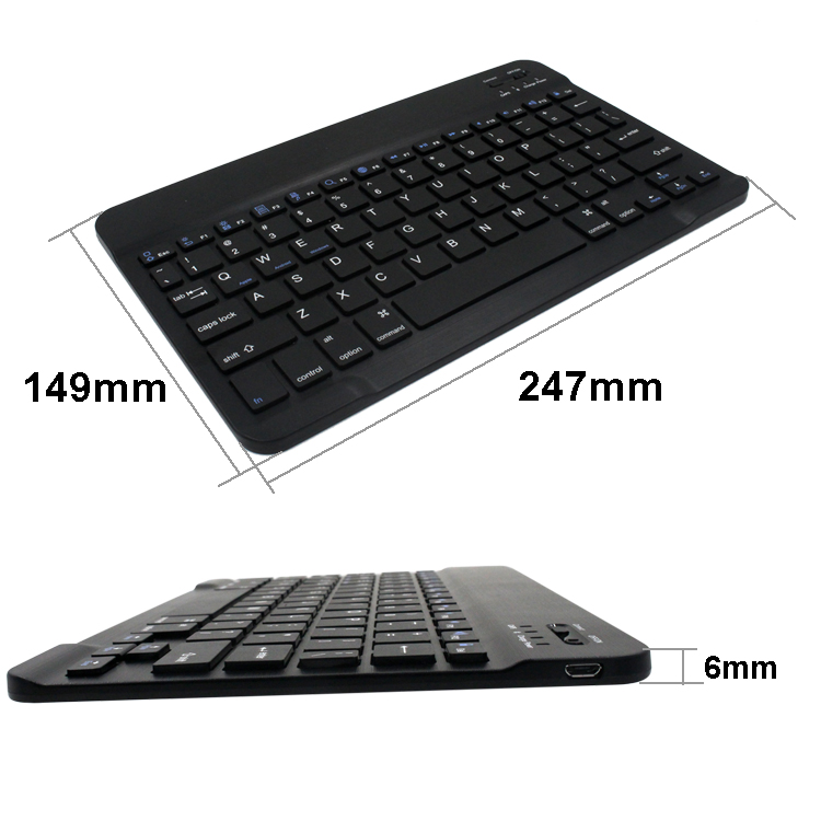 Trade assurance supplier Hot selling wireless mini arabic keyboard for Ipad
