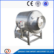 Automatic vacuum tumbler for meat processing equipment