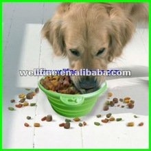 2012 new design silicone Dog Food and Water Bowl