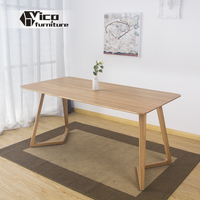 made in china solid oak wood classic design dining room kitchen best price dining table