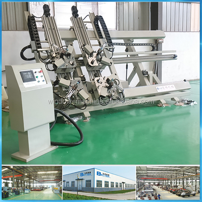 Aluminum Window Corner Crimping Machine / Aluminum Window Frame Making Machine