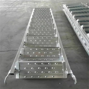 Good Quality Scaffold Welded Steel Scaffolding Walk Plank Stair Dimension Catwalk Galvanized Toe Board