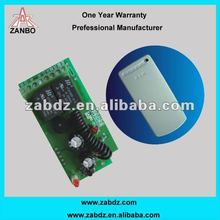 Learning code two channel wireless receiver controller (ZAB-2PC)