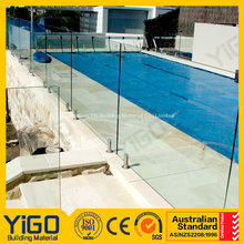 safety guard pool railing/glass fence panels for balcony