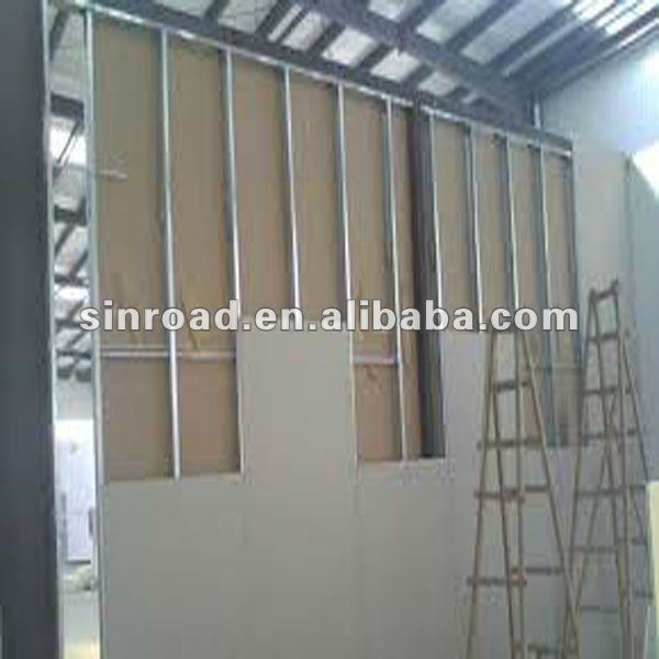 New design gypsum board, high quality plasterboard
