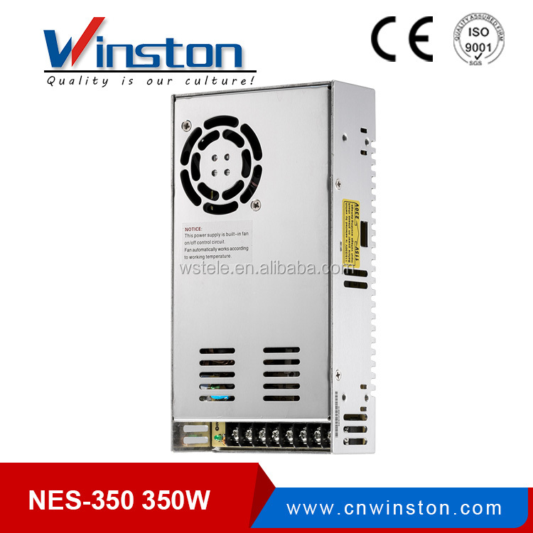 Winston NES-350-27 Power Supply 27V <strong>13</strong> Amp Efficient Single SMPS