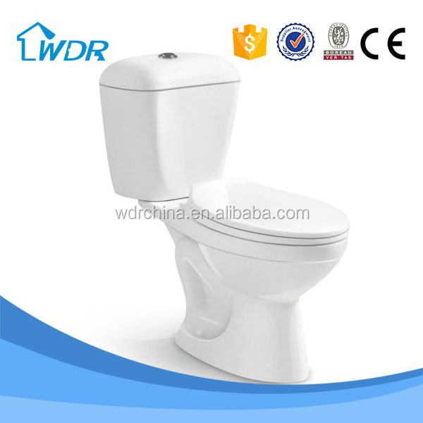 S-trap 300 mm wholesale siphonic bathroom western toilet