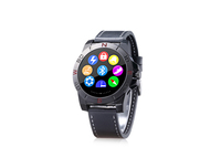 Anti-lost alert Round screen Sync SMS 2015 factory price smart watch phone f9