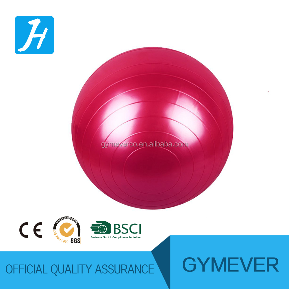 Gym ball with base with expander