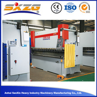 63Ton2500mm 2mm 3mm plate aluminum sheet metal manual folding machine