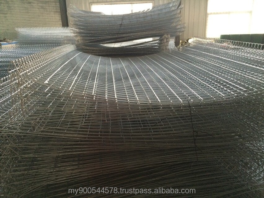 PVC Coated Steel Construction BRC Fence/BRC Wire Mesh Size