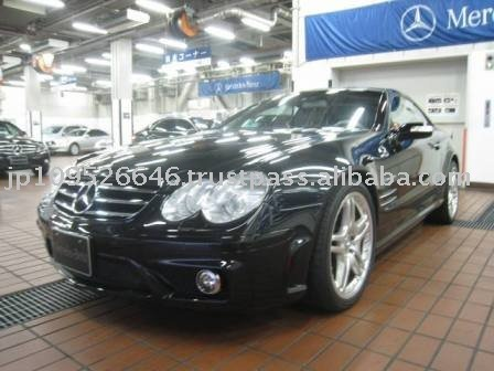 2004 Mercedes Benz SL Class SL55AMG/Convertible/LHD/44000km/Diesel/Black Used car