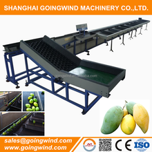 Automatic mango grading machine mangoes fruit size or weight sorter equipment good price for sale