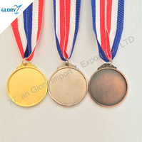 Metal custom award sports round medal