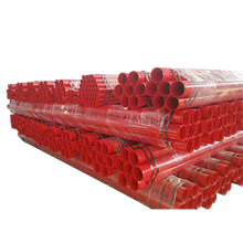 Epoxy coated steel material fire fighting pipe for sale