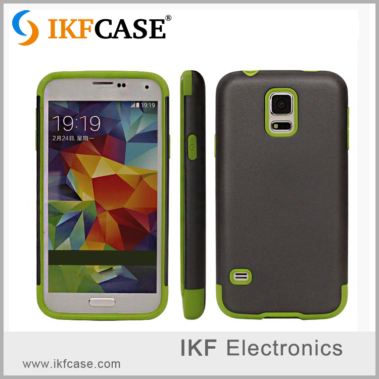 Wholesale Shockproof waterproof Hybrid TPU + PC Armor cell Phone Case for Samsung GALAXY S5