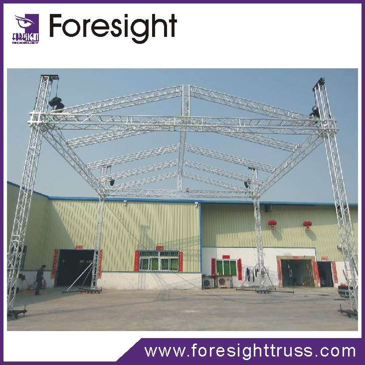 Professional Aluminum Retractable Roof Trusses System With