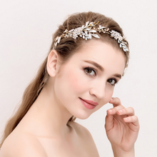 Fashion women hair jewelry crystal handmade hair band wedding jewelry wholesales