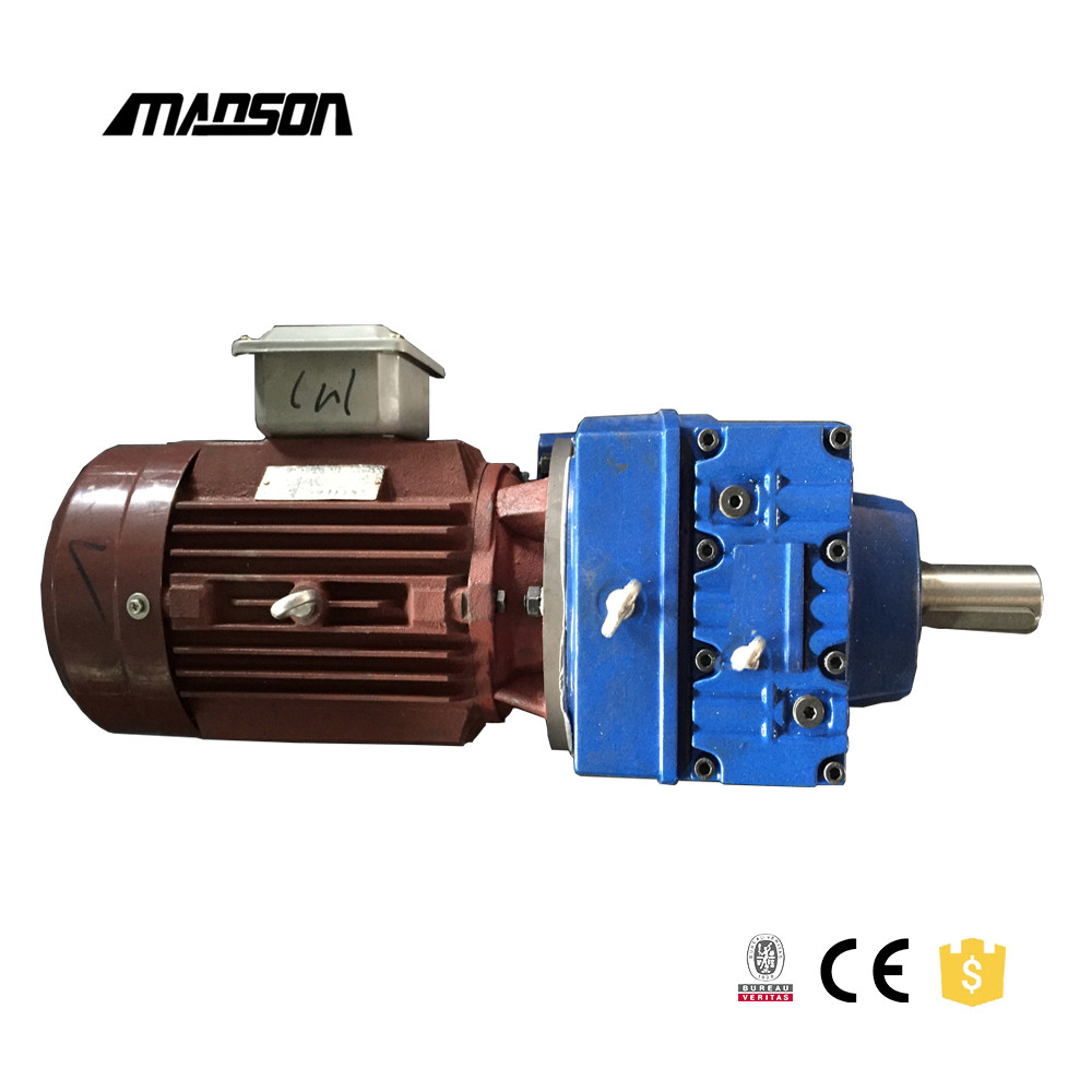 R Series Helical Elevator Gear Box