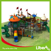 2015 NEW DESIGN!JACK CAPTAIN pirate ship themed playground/Pirate ship outdoor playground/plastic toy pirate ship LE.X2.503.273