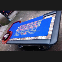 96-Inch Roulette Table With 20' Roulette Wheel