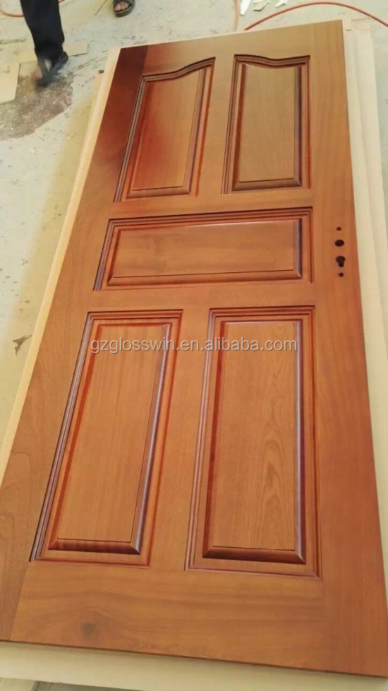 Natural Teak Wood Veneer Ply Wood Door Designs Buy Teak Ply Wood Door Designs Wood Panel Door Design Teak Wood Main Door Designs Product On