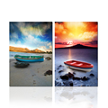 Sailing Boat Wall Art on Canvas Sunset Images Printing