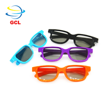 2017 hot sale low price disposable plastic 3d glasses for 3d cinema