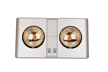 Wall Mounted Bathroom Infrared Heater Lsa634 Golden Color 550w Buy Wall Mounted Infrared