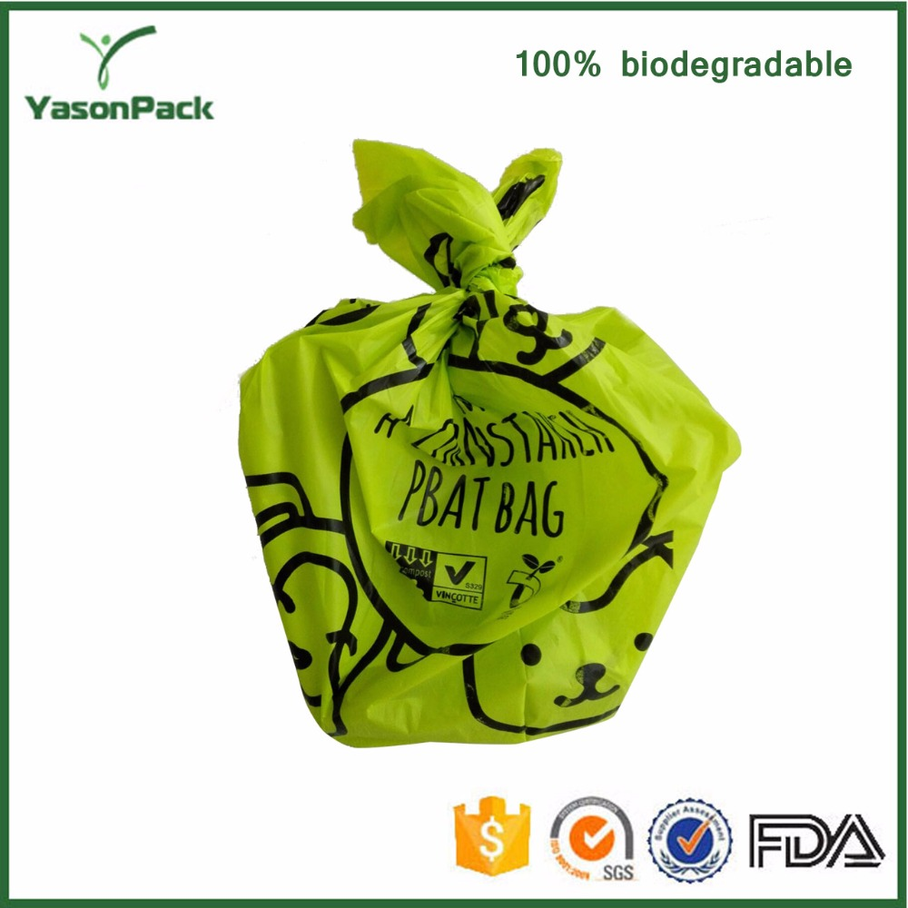 Super value practical original ecological degradation no pollution no odor dog shit bag
