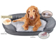 Manufacture Sale Customized Memory Foam Pet Dog Bed