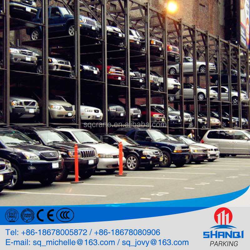 Shanqi PSH Underground Hydraulic Park and Slide Garage Lift