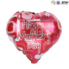 Wholesale custom made red Happy Mother's Day helium balloons