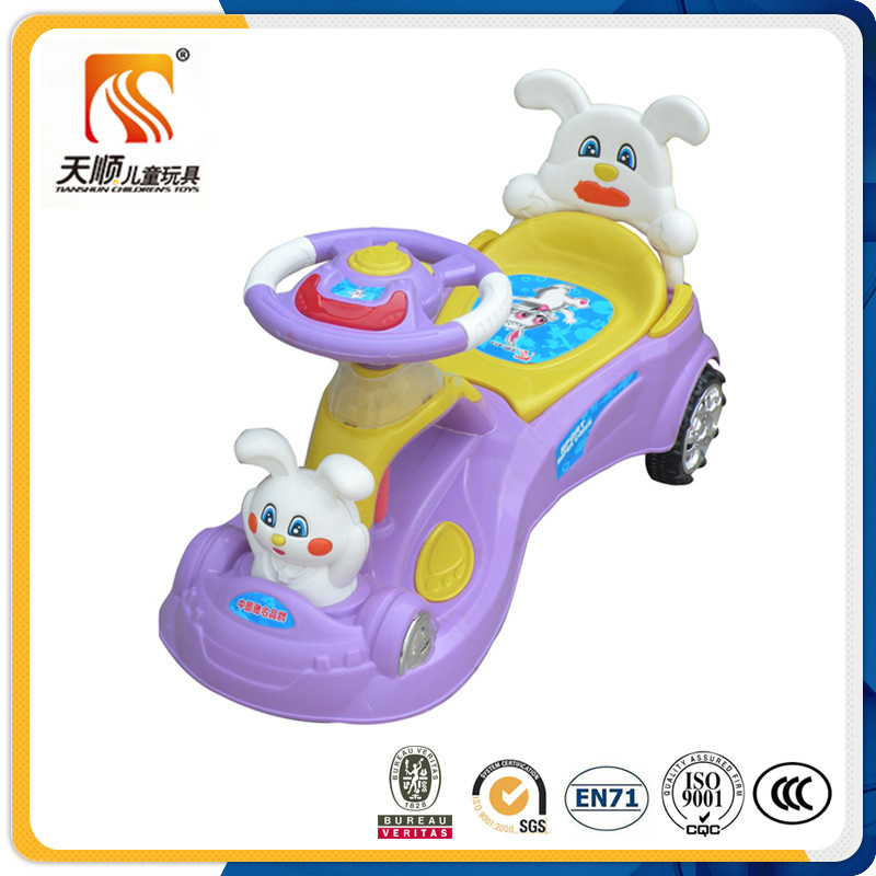 Tianshun swing car for sale cartoon kids toy swing car classic design child toy car