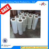 100% New material Clear lldpe Stretch Film for label printing made in china wholesale
