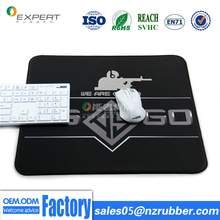 Custom CS/CF gaming mouse pads natural rubber mouse pads