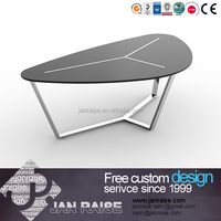 Chinese classic metal frame coffee table for living room