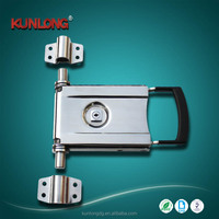 SK1-1593 Refrigerator Shipping Truck Stainless Steel Container Lock