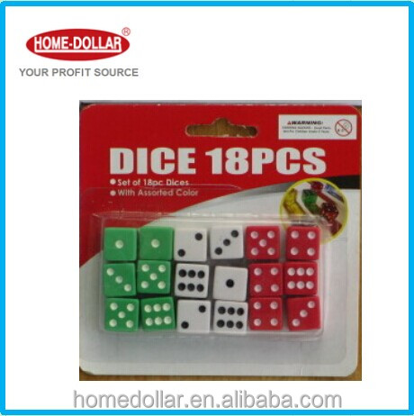Chips dice for Gambling Game Dice colorful colors Promotional Gifts RPG DICE SET