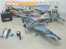 Hot Sellers! ME109 EPO TW 749 RC Airplane 2.4G 4CH Lanyu RC Model