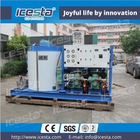 ICESTA 3T dailyTOP sale Ice Flaker Machine flake ice maker for fishery, supermarket, restaurant