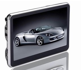 4.3 inch gps navigation MTK 4GB capacity auto radio gps sat quad core car gps navigation
