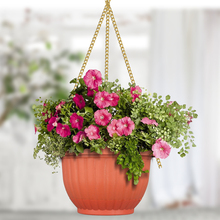 Wholesale Coconut Fiber Hanging Flower Basket, Cheap Wrought Iron Hanging Basket with Coco Liner, Metal Wire Hanging Planter
