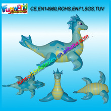 2014 Inflatable Sea Dragon, Blue Dragon Inflatables, Blue Inflatable Dragon For Sale (FUNPM1-068)