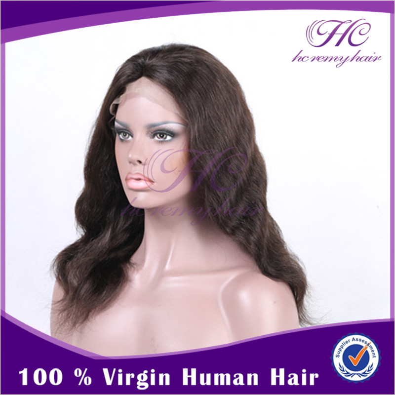 Buy Chinese Products Online High Quality 200 Density Brazilian Human Hair Natural Hairline Full Lace Wig