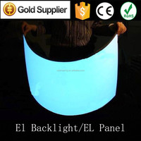 Professional manufacturer A2(420*597MM) EL Backlight Display el light Panel with adaptor and inverter